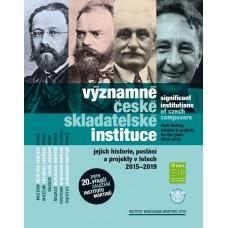 Významné české skladatelské instituce