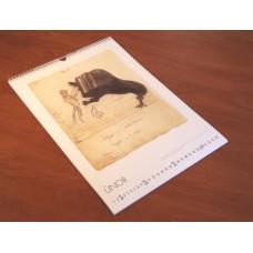 Kalendář s obrázky Bohuslava Martinů