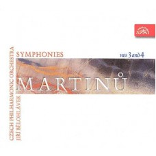 Martinů, B. Symfonie č. 3, 4 / ČF / J. Bělohlávek