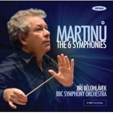 Martinů - 6 symfonií / Jiří Bělohlávek  / Symfonický orchestr BBC