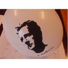 Nafukovací balónek s portrétem Bohuslava Martinů (bílý)