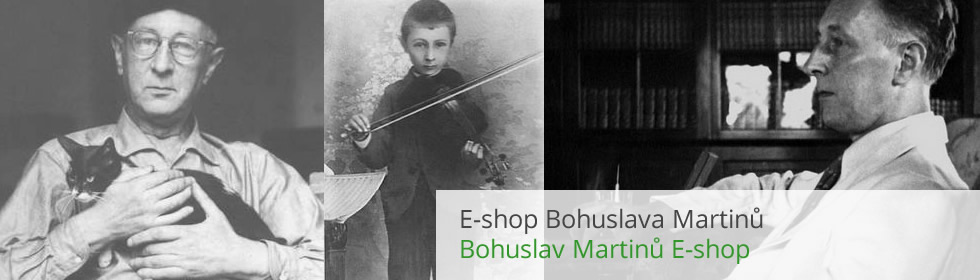 E-shop Bohuslava Martinů