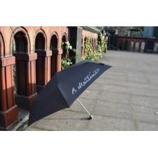 Deštník černý s podpisem B. Martinů