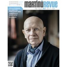 Časopis Martinů Revue, No.2/ 2017 (v angličtině)