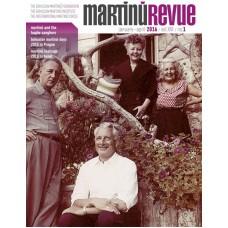 Časopis Martinů Revue, č. 1/2016 (pouze v angličtině)