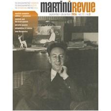 Časopis Martinů Revue, č. 3/2016 (pouze v angličtině)