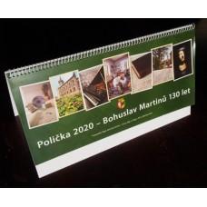 Stolní kalendář B. Martinů a Polička - 130 let